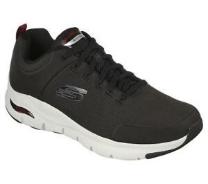 SKECHERS Men's Arch Fit - Titan shoe in Black/White