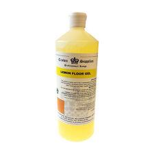 Crown Supplies Floor GEL 1l Lemon