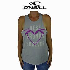 Womens O'Neill Best Fronds BFF Love Top Back Surf Summer Sleeveless Tank O1.10