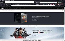 Mini PC Gaming 4K HDR Ryzen 5 3400G 32GB RAM SSD 500GB WI-FI Bluetooth Win10 Pro