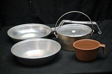 Old Vintage BSA Boy Scouts of America Mess Kit by Royal Camping Tool Cook Set