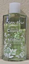 Bien-etre Eau De Cologne Naturelle 250ml - BRAND NEW>FREE SHIPPING!!