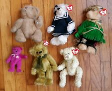 Vintage Teddy Bear Lot Ty Beanie Babies Gund Collectors Classic 1985