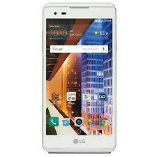 Boost Mobile - LG Tribute HD 4G LTE 16GB Memory Prepaid Cell Phone - White.