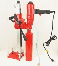 "New 4"" Bluerock ® Core Drill 2 Speed W/ Stand Concrete Coring Model 4"" Z-1Ws"