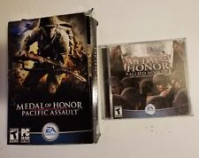 Medal of Honor: Pacific Assault Big Box PC and MOH Allied Assault Jewel Case