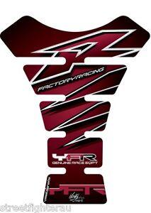 Yamaha YZF R1/R6 Claret Spine Style Tankpad MOTOGRAFIX Part:TY006C