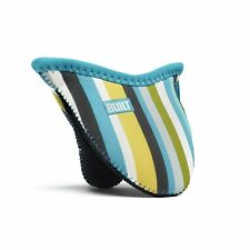 BUILT Mini Grip Pot Holder Stripe, Sea Glass Blue