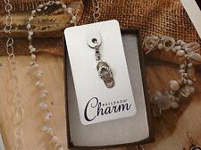 SILPADA Sterling Silver Charm Collection - Glam Sandal - C2579 - NIB!