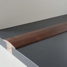 De transición perfil 24 x 57 mm schwarznuss pintada-alta calidad-masivamente madera auténtica