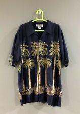 Avanti palm trees Hawaiian shirt