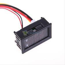 Red Blue Dual LED Digital Voltmeter Ammeter Panel Amp Volt Gauge DC 0-300V 10A