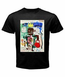 JEAN MICHEL BASQUIAT Graffiti Artist ALI VS FRAZIER FIGHT T-Shirt, Tee Gift 2021