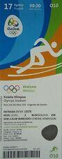 mint TICKET 17.8.2016 Olympic Rio Leichtathletik Athletics # O10