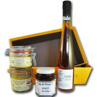 Gourmet foie gras box
