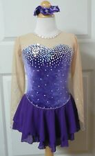 Kim Competition Ice Skating Dress Child Size 12