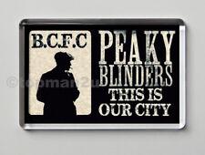 New, PEAKY BLINDERS Quality Fridge Magnet - Birmingham City, Blues, BCFC