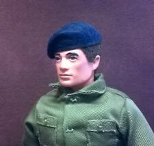 Banjoman 1:6 Scale Custom Made Beret For Action Man / G I Joe - Dark Blue