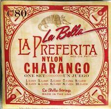 LaBella C80 Nylon Charango Strings Set Juego De Cuerdas Para Charango.