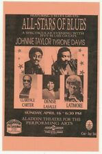 New ListingOriginal 1995 Las Vegas Soul Music Spectacular Flyer