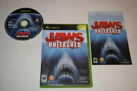 Jaws Unleashed Microsoft Xbox Video Game Complete