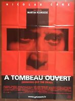 Affiche A TOMBEAU OUVERT Bringing out the dead NICOLAS CAGE Scorsese 120x160cm