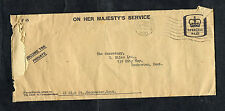 1966 Cover Rochester & Chatham Postmark with Letter from Tax Commissioners