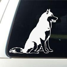 Funny SLED DOG SIBERIAN HUSKY Silhouette Car Truck Window Vinyl Decal Sticker