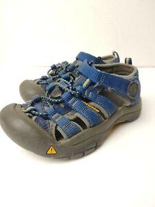 Keen Kids Newport H2 1009938 Blue/Gray Waterproof Hiking Sport Sandals Size 11
