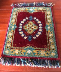 Quality Wool Rug Made In Austria (w), Dolls House Miniature