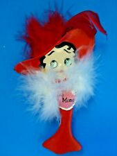 Retired Betty Boop Red Heart Valentine Ornament