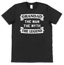GRANDAD THE MAN  funny mens T-shirt S-XXL Gift slogan birthday Father's Day Xmas
