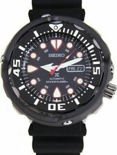 Seiko Prospex Men's Black Watch - SRP655