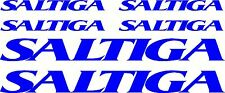 Saltiga Fishing Boat Stick Sticker Decal Marine Set of 6