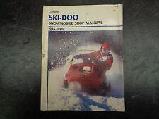 1985-89 Clymer Ski Doo Snowmoblie Shop Manual 1005