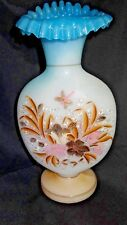 Vintage Glass Hand Blown Hand Painted Jack in Pulpit Vase