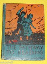 The Pathway To Reading 1932 First Reader Nice Color Pictures Nice SEE!