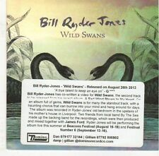 (EJ559) Bill Ryder Jones, Wild Swans - 2013 DJ CD