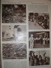 Photo article Hurricane Donna hits caribbean and USA 1960