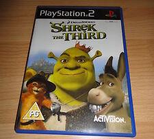 PS2 GAME: SHREK THE THIRD 'PAL UK'