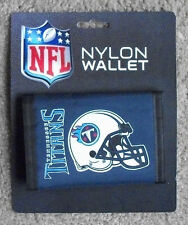 New Tennessee Titans Football Licensed NFL Sports Wallet Nylon Trifold