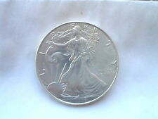 LOOK!!! 1996  SILVER EAGLE  , NICE COIN. (( KEY  DATE  )) FREE PLASTIC CAP.