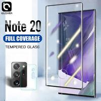 Samsung Galaxy Note20/S20/Ultra Full Cover Temper Glass+Camera Screen Protector