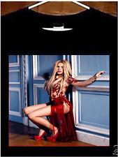 Shakira T shirt; Shakira Red Dress Tee Shirt