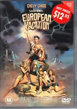 EUROPEAN VACATION - DVD R4 (2002) Chevy Chase - LIKE NEW - FREE POST