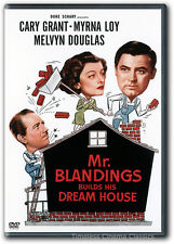 Mr Blandings Builds His Dream House DVD New Cary Grant Myrna Loy Melvyn Douglas