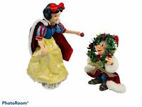🔥 Disney Clothtique Possible Dreams Snow White And Dopey 2006 Holiday Figurines