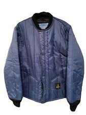 RefrigiWear Lightweight Cooler Wear Fiberfill Insulated Workwear Jacket Medium