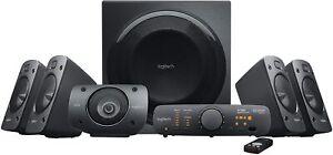 Logitech Z906 5.1 Surround Sound Speaker System THX, Dolby/DTS Digital Certified