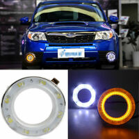 Auto LED Daytime Running Lights DRL+Yellow Trun Singnal  For SUBARU  Forester